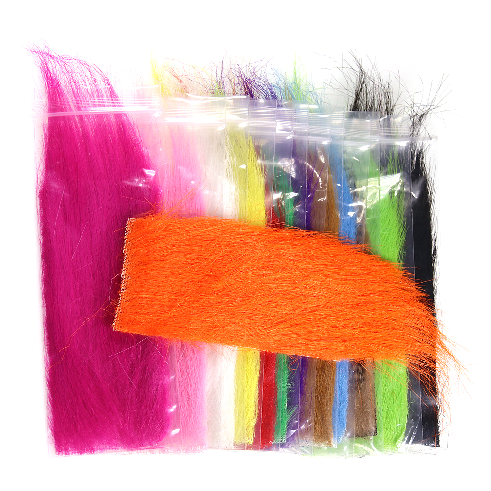 ICERIO 1 Bag Furabou Craft Fur Soft Synthetic Fiber Streamer Tail Wing Fly Fishing Tying Materials
