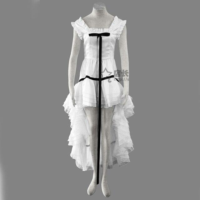 Anime Chobits Freya noir et blanc robe Cosplay Costume sur mesure