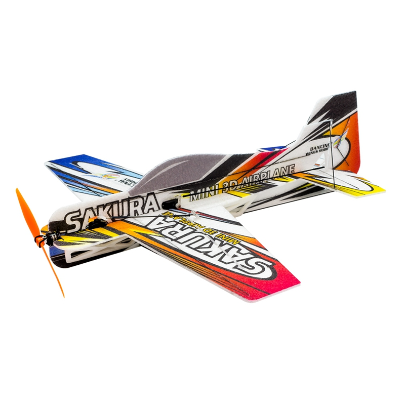 Dancing Wings Hobby SA& KURA E210 420mm Wingspan EPP Mini 3D Aerobatic Indoor Aircraft RC Airplane KIT/PNP