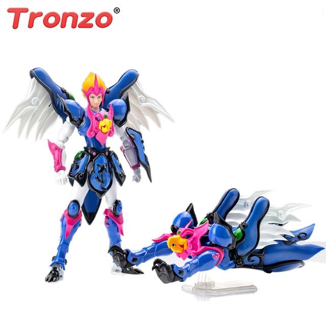 Tronzo modelo Greattoys GT Dasin DM TenKuu Senki Shurato Garuda King, Armadura de Leiga SHF, modelo de figura de acción, juguetes, regalos de navidad