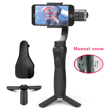 Orsda Gimbal Handheld  Smartphone Wireless 3 Axle Phone Bluetooth Phone Stabilizer For iPhoneX 11 Smartphone Mobile Manual Zoom