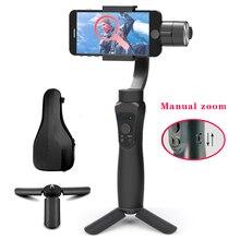 Orsda Gimbal Handheld  Smartphone Wireless 3 Axle Phone Bluetooth Phone Stabilizer For iPhoneX 11 Smartphone Mobile Manual Zoom
