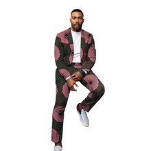 Pant Suits Blazers Wedding-Garments Party-Wears Custom Male African Fashion Trousers