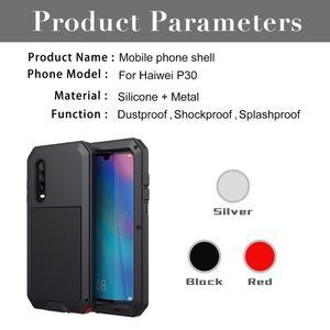 Image 2 - Funda para teléfono inteligente deportiva resistente al agua anticolisión stranger aluminio metal pesado, Estética de lujo, huawei P30 Pro mate 20 30 pro