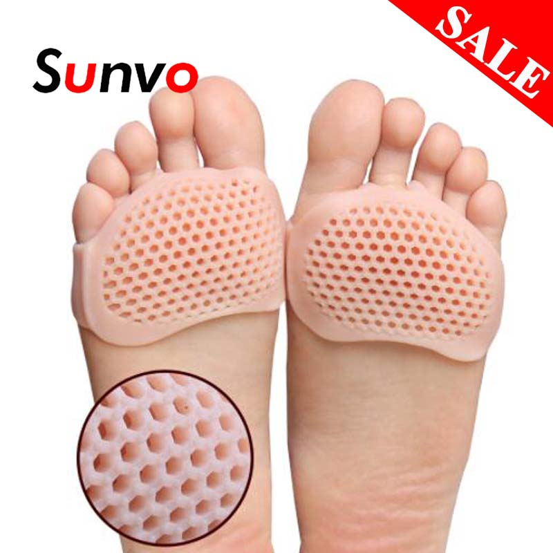 Women Forefoot Pads Pain Relief Cushion Non slip Insert Protector Shoe Insoles