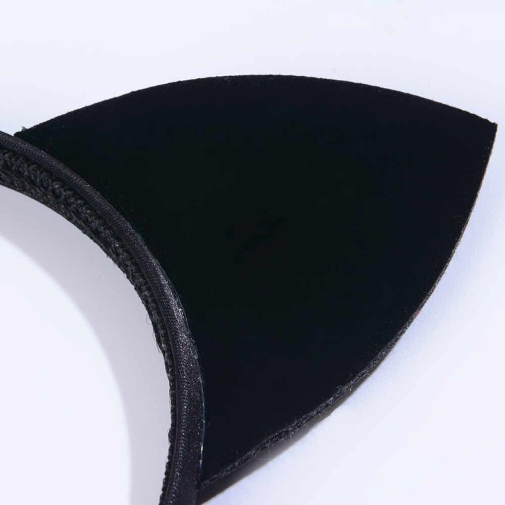 สัตว์พิมพ์เซ็กซี่สีดำหูแมวสีผม Claw Headband PARTY ปาร์ตี้คริสต์มาสผม Hoop ozdoby DO wlosow aros