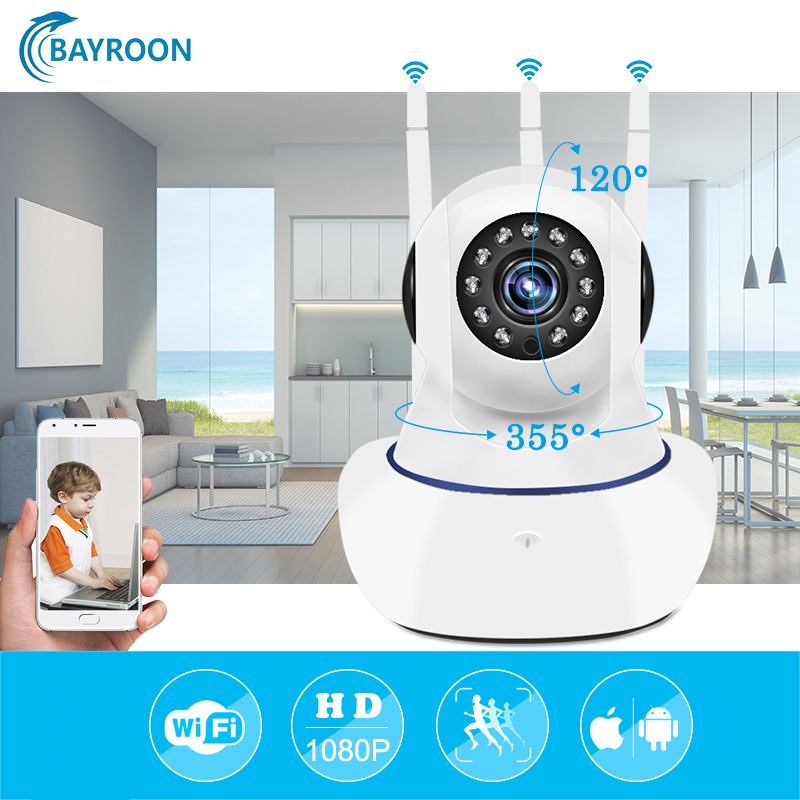 Wifi IP Camera 1080P Wi-fi Security Video Surveillance P2P Mini Wireless CCTV Home Camara Onvif Baby Monitor Ipcamera