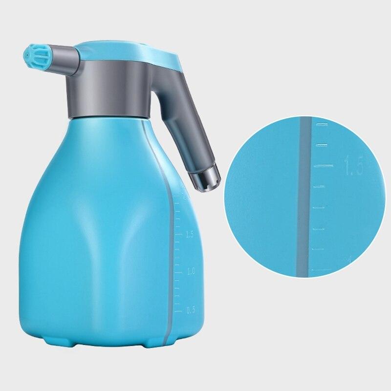 Дом растение лейка банка электрический опрыскиватель 2л давление спрей бутылка полив душ полив чайник горшок вода спринклер