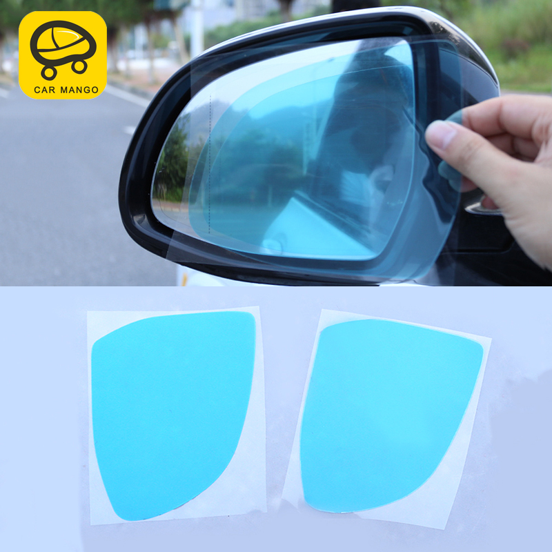 CarManGo for BMW X5 G05 2019 Car Anti Fog Rearview Mirror Film Rainproof Clear Sticker Side Mirror Protective Waterproof Film
