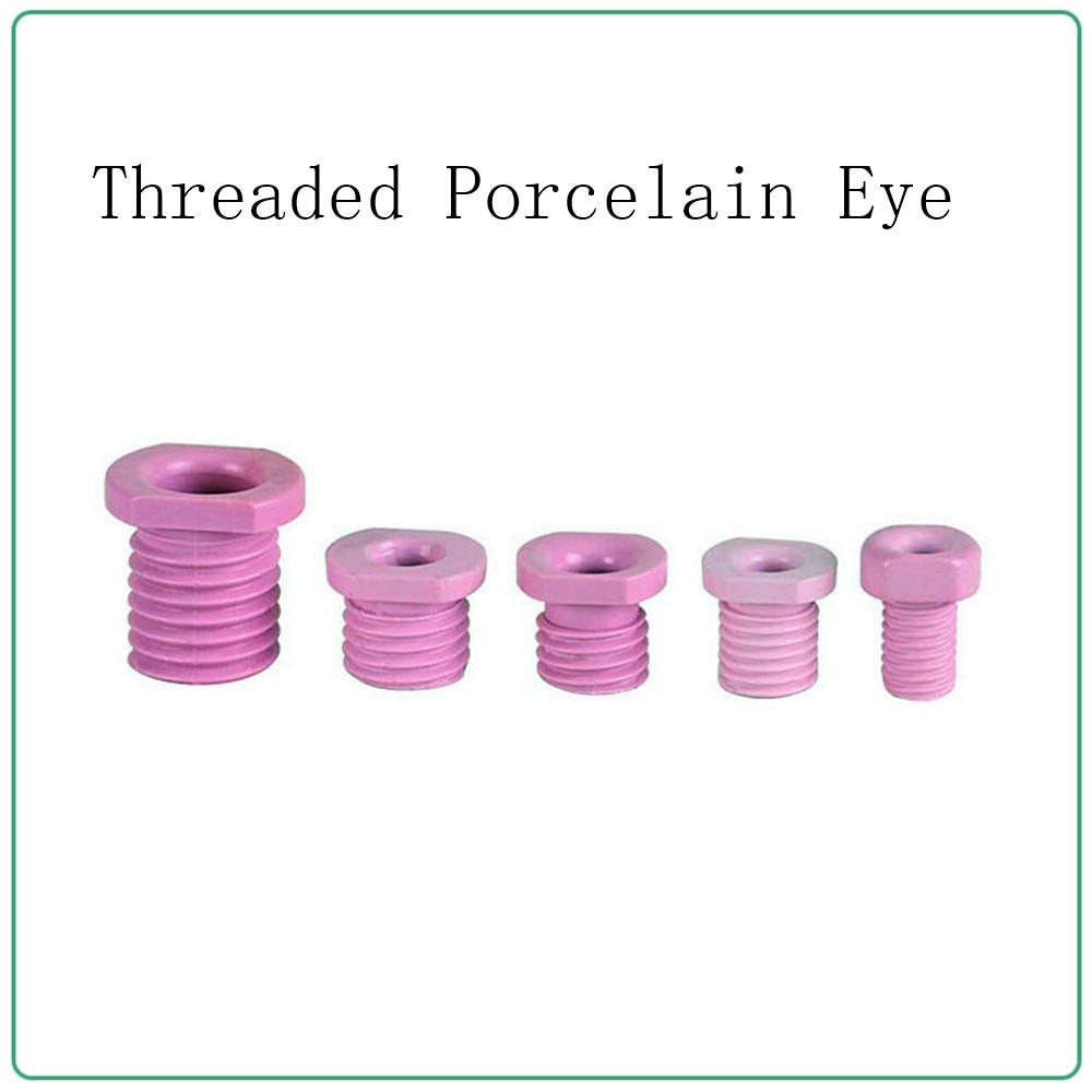 Hollow threading nozzle m8m12m14m16m18m20m24 for aluminum oxide ceramic screw with thread porcelain eye20M24