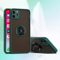 Custodia protettiva per fotocamera per iphone 11 12 Pro Max X XR XS Max 6 7 8 PLus supporto per staffa ad anello magnetico copertura completa antiurto di lusso