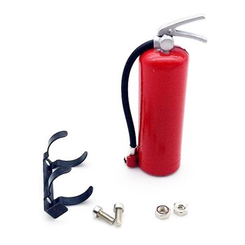 1/10 Scale Fire Extinguisher Simulation RC Rock Crawler Accessory for AMIYA CC01 RC4WD Mini Fire Extinguisher Toy image