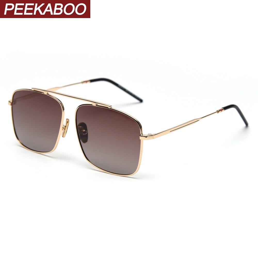 Peekaboo cheap fashion ocean sunglasses tinted lens yellow