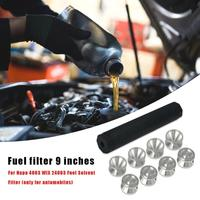 9 inch Solvent Tube+D Cell Cups+End Caps Excellent Durable Metal Aluminium Car Fuel Filter for NAPA 4003 WIX 24003