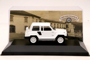 IXO 1:43 Gurgel X12 TR 1979 Car Diecast Models Limited Edition Collection Auto Toys Gift White image