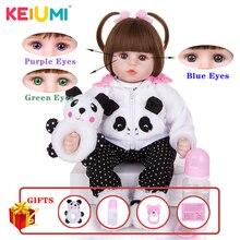 Gorąca sprzedaż realistyczne niemowlę lalki miękkiego silikonu nadziewane realistyczne Baby Doll zabawki etniczne lalki dla dzieci prezenty na urodziny, Boże Narodzenie