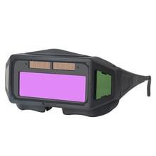New Auto Darkening Welding Mask Welding Cap for TIG MIG MMA Professional Weld Glasses Goggles Welding Equipment