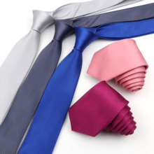 Suit Cravat Champagne Wedding-Party-Accessory Skinny Pink Mens Necktie Business-Tie Blue