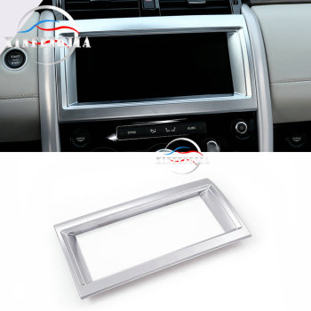 Center GPS Navigator Instrutment Frame Cover For Land Rover Discovery 5 17-2018 image