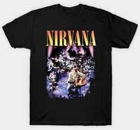 NIRVANA-MTV UNPLUGGED-camiseta oficial-Grunge-S, M, L, XL, XXL, XXXL