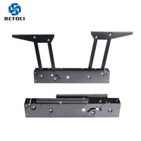 Betoci 2PCS Folding spring tea table hinge function furniture lift lift coffee computer table shelf furniture hardware