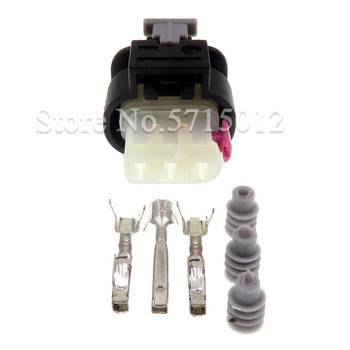 3 Hole 2-1718644-1 Car Waterproof Connector Electrical Plug Socket For VW Audi image