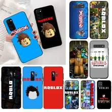 Yjzfdyrm Roblox Games Diy Painted Bling Phone Case For Samsung S20