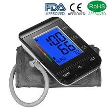 Certyfikat CE FDA Monitor ciśnienia krwi tonometr ramię ciśnieniomierz puls/2 tryb użytkownika/90 pamięci danych/wskaźnik IHB