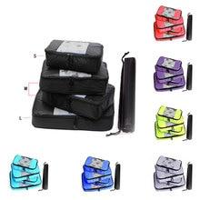 Travel Bag Organizer Hand Luggage Large Capacity Men Women Children's Nylon Foldable Waterproof  Packing Cubes