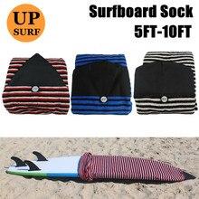 Быстросохнущие носки для серфинга размеры 5ft-12ft сумка для хранения серфинга сумка 8 футов серфинга носок черный/красный/белый/синий цвета SUP доска носок