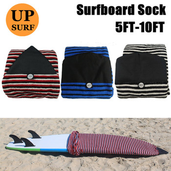Quick-dry Surf Sock Cover Sizes of 5ft-12ft Storage Bag surfboard Bag 8ft Surf Sock Black/red/white/blue Colors SUP Board sock 2017 newest red white black colors mountain