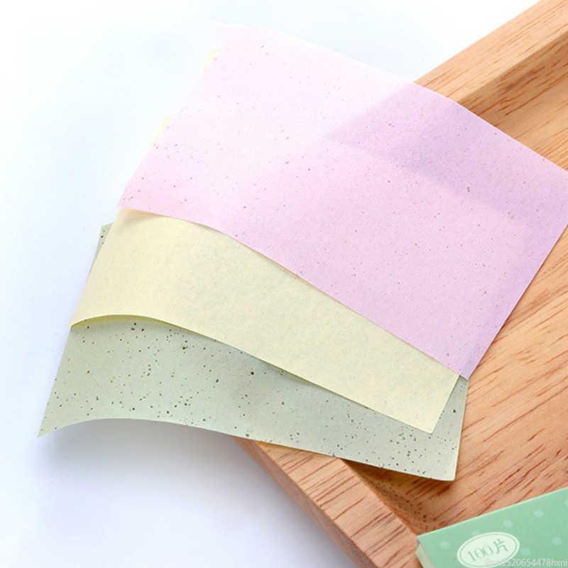 100 arkuszy/worek olej Blotting papieru lawendowa zielona herbata rumianek kontrola oleju arkusze do czyszczenia twarzy papier chłonny przybory do makijażu TSLM1