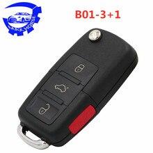 5 шт., автомобильный ключ KD900 B серии дистанционное управление KD B01-3/3+ 1 3/4 кнопочный ключ автомобиля для KD-X2 ключа программиста URG200 машина