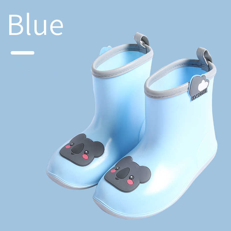 Kocotree ماركة معطف واق من المطر للأطفال التزاوج احذية المطر طفل بنين بنات الكرتون ديناصور أحذية المطر رياض الأطفال الطلاب الأحذية المياه