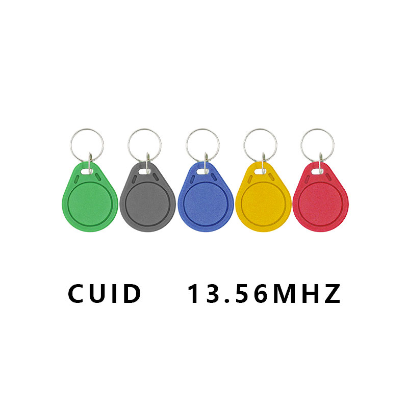 100Pcs / Batch Keyfobs Token Label S50 13.5MHZ CUID Can Change MF S50 1K IC Keychain NFC Replica Copy Block 0 Can Write 14443A
