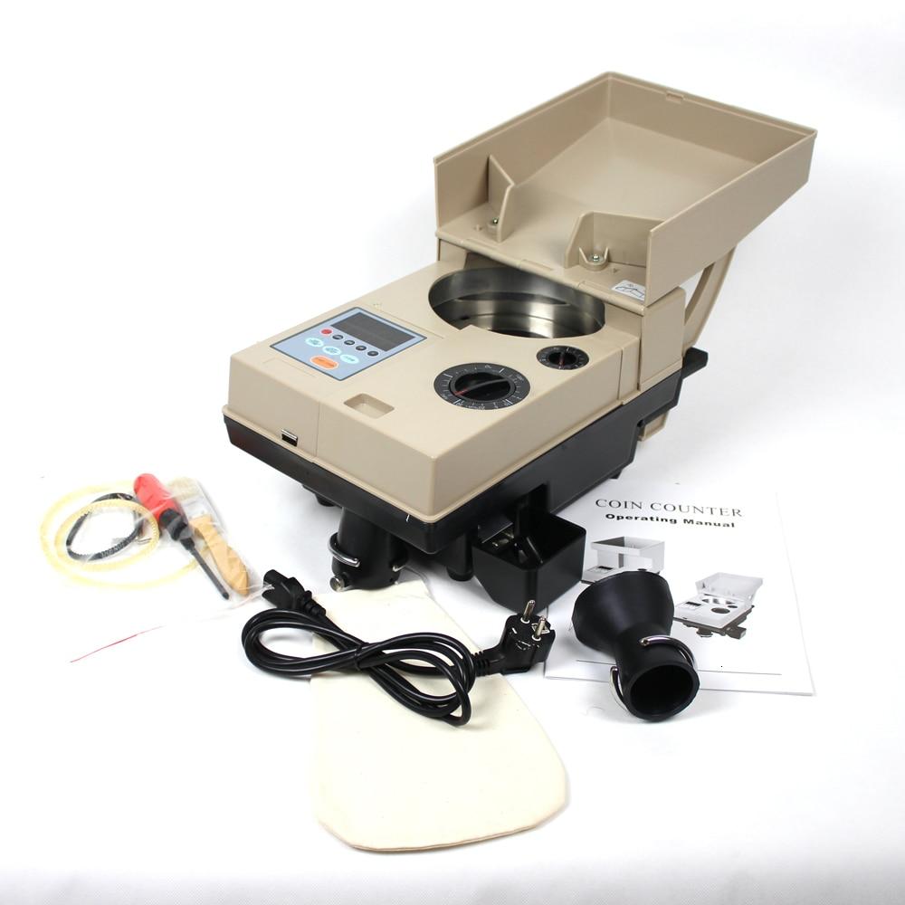 equipamento eletronico automatico do classificador da moeda 01