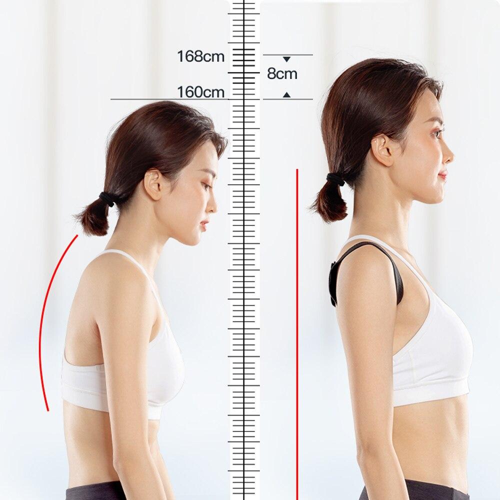XXL-S Back Shoulder Posture Corrector Adult Children Corset Spine Support Belt Correction Brace Orthotics Correct Posture Health 4