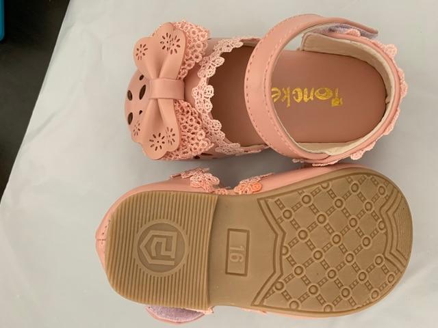 Pink Toddler Girl Sandals 6