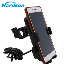 Motorcycle USB Charger Moto 12V Universal Waterproof Motorbike Phone Bike Holder
