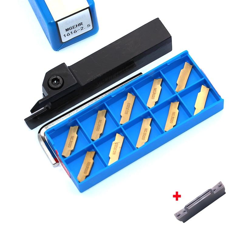 MGEHR1616-1.5 MGEHR1616-2 MGEHR1616-3 MGEHR1616-4 Support + MGMN150 MGMN200 MGMN300 Insert CNC Lathe For Turning Tool