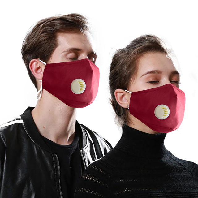 Face Mouth Mask Respirator Reusable Unisex Mask Breathable Anti-dust Haze Flu PM2.5 Face Masks Care For Travel Cycling D30 3