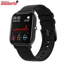 Diliberto P8 1.4 inch Smart Watch Men Full Touch Fitness Tracker Blood Pressure Smart Clock Women GTS Smartwatch for Xiaomi()