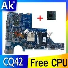 DA0AX2MB6E0 611555-001 CQ42 G42 Moederbord Voor Hp G42 G62 CQ42 CQ62 Moederbord 611555-001 Laptop Moederbord Volledig getest
