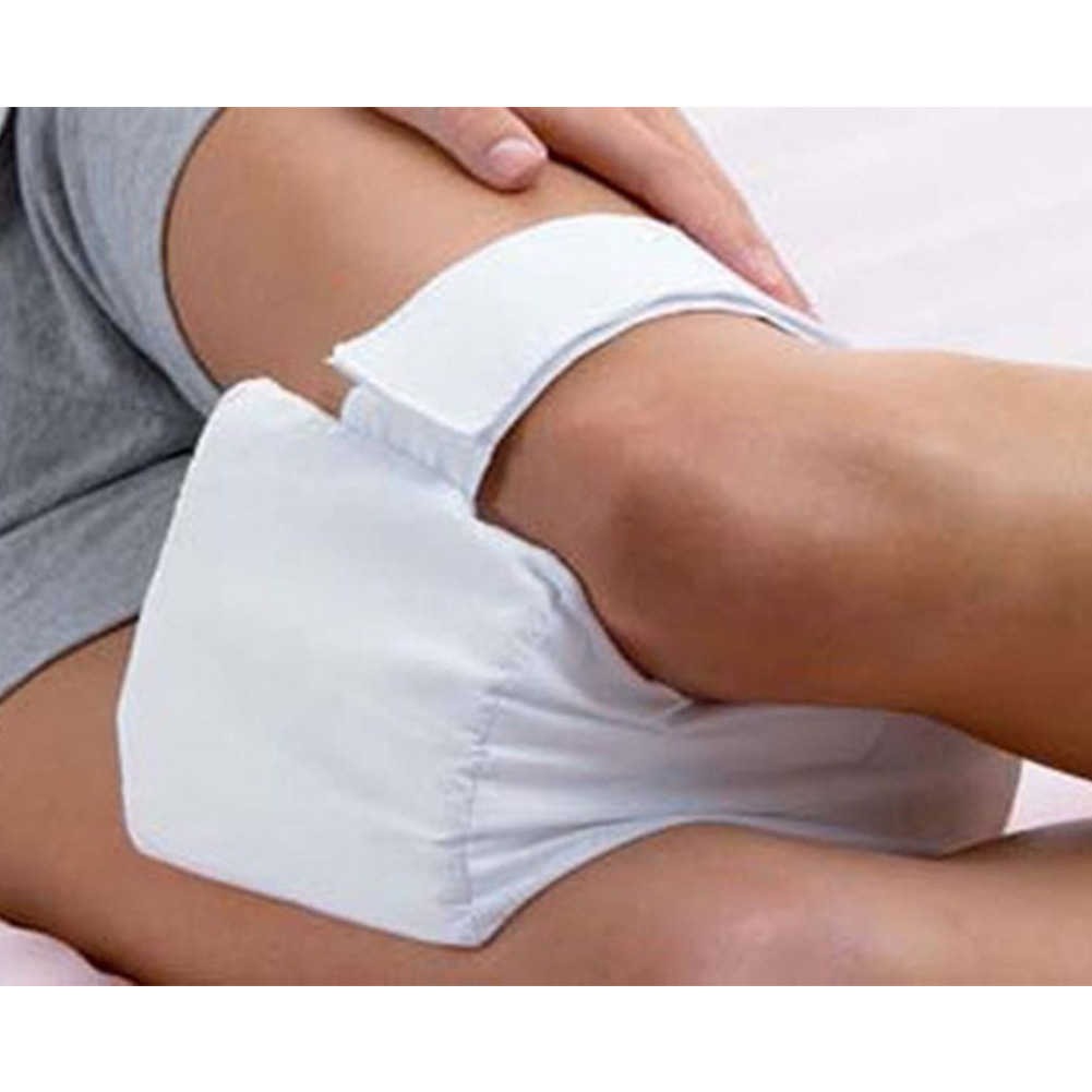 Knee Support Ease Pillow Cushion Comforts Bed Sleeping Separate Back Leg Pain Support image