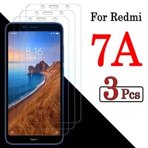 Защитное стекло для xiaomi redmi 7 a, закаленное стекло 7a, пленка для xiomi xiami a7 tremp radmi, защита экрана от 1 до 3 шт.