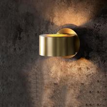 Nordic Copper Luxury Wall Lamp Modern Vintage Art Bedside Lamp Wall Light Bedroom Patio Wall Lights Indoor Lighting Vanity Light