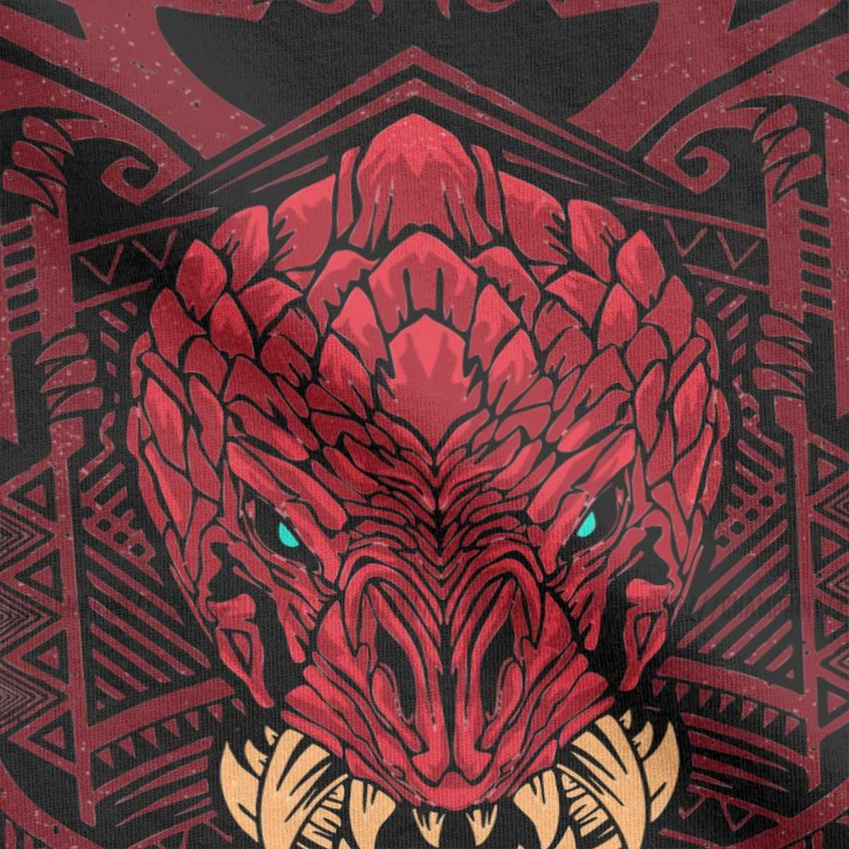 Men Odogaron Mhw Monster Hunter World T Shirts Gaming Rathian