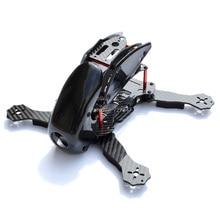 הרובותול 270mm הרובותול 270 4 ציר מלא סיבי פחמן מירוץ מיני Quadcopter מסגרת עם הוד כיסוי עבור FPV