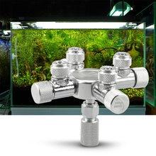 Распределитель co2 для аквариума игольчатый клапан соленоидный