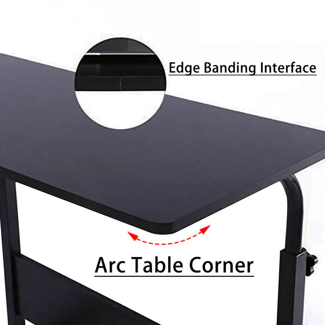 Adjustable Movable Laptop Stand Desk Portable Laptop Table Computer Desk Notebook Laptop Desk Can be Lifted Bed Side Table 4